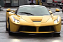 Ferrari Unleashes Yellow LaFerrari On the Track [Video]