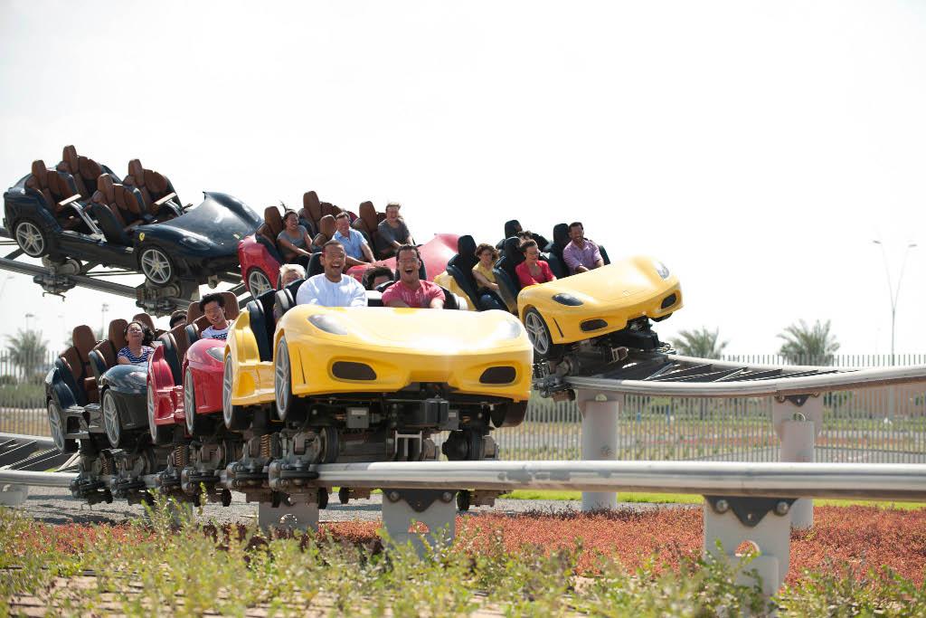 Ferrari World Abu Dhabi Better Than Disneyland
