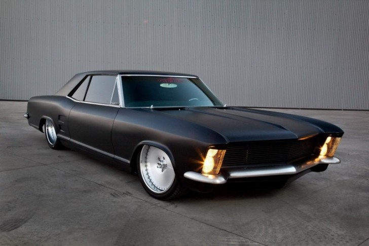 Buick Gnx Tuning >> Fesler-Modified 1963 Buick Riviera Looks Sinister - autoevolution