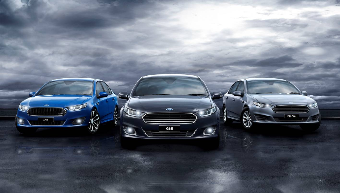 Ford FG X Falcon Lineup ... : ford car line up - markmcfarlin.com