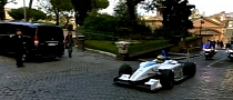 FIA Formula E Teased - EV Racer Gets Driven Through Rome [Video]