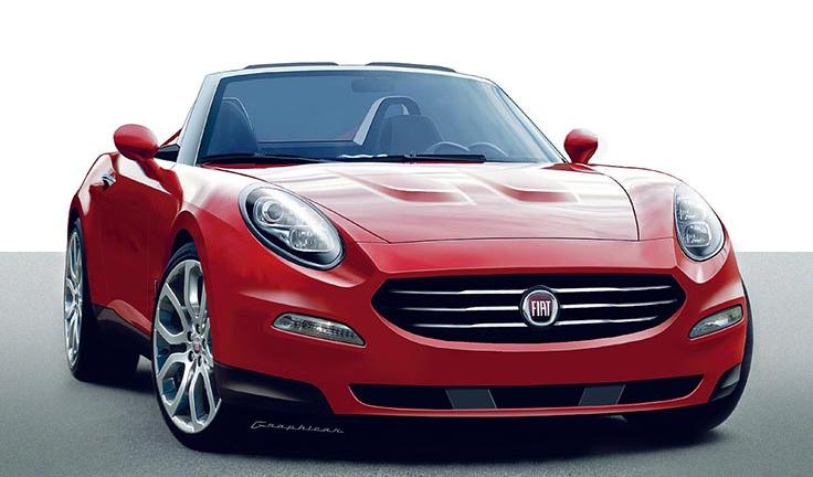 Wonderful Fiat 124 Spider Will Be Shown At 2015 Frankfurt Or LA Auto