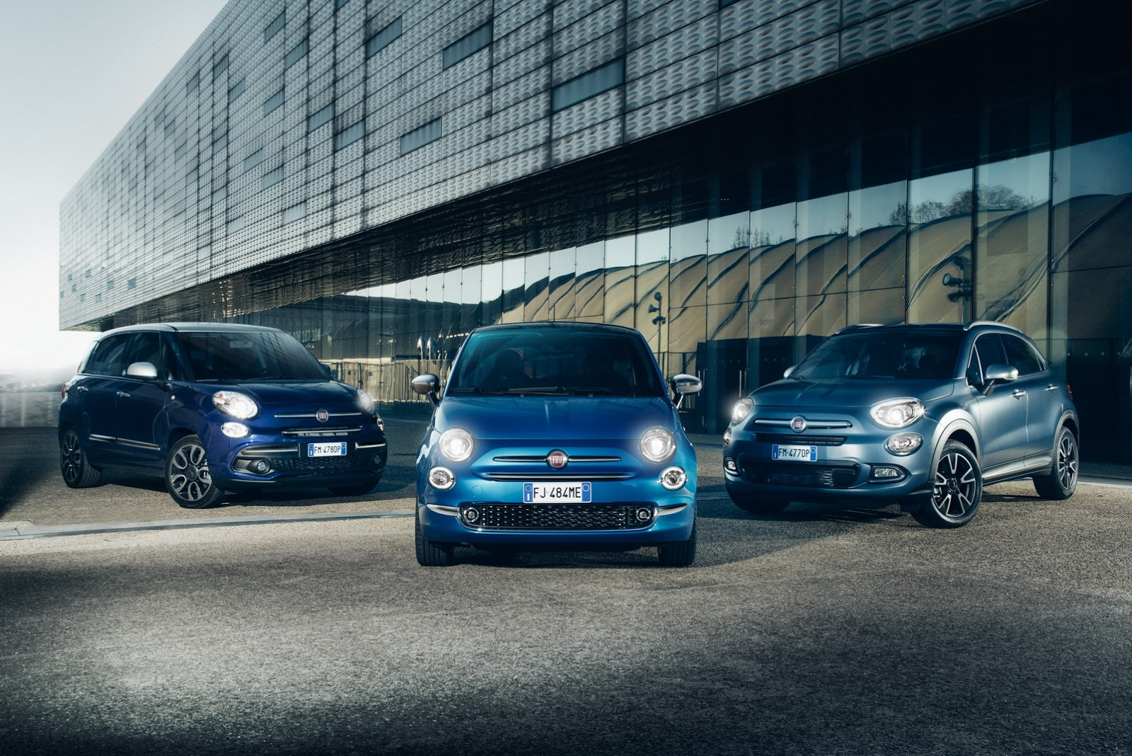 Fiat 500, 500L and 500X Mirror Edition Are More Connected ...