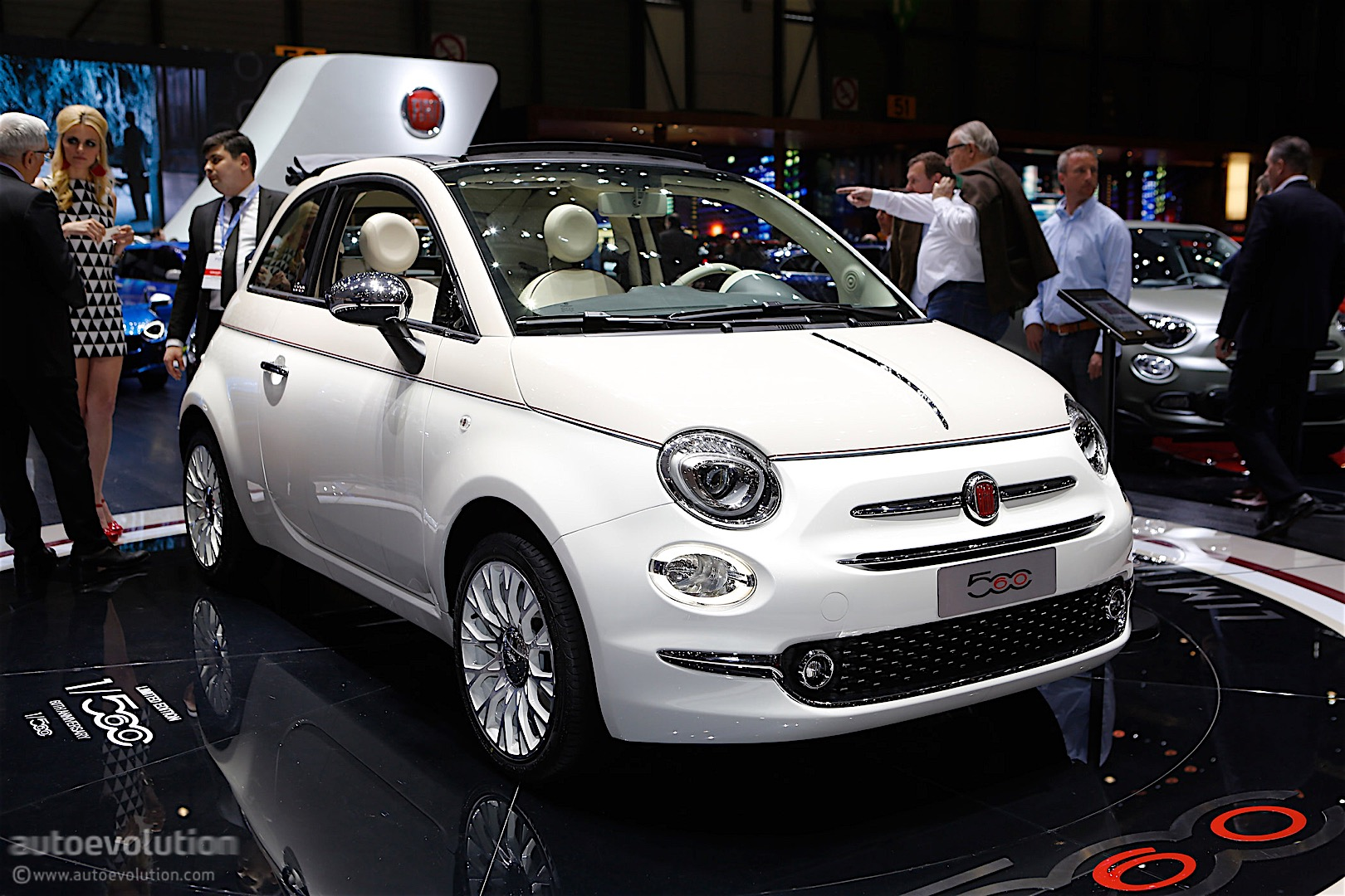 Fiat 500' 60th Anniversary Edition Launched In Geneva, Only 560 Will