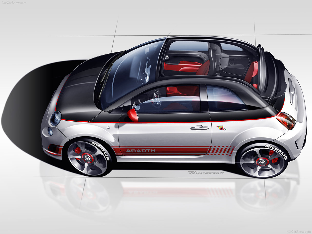 Fiat 500 abarth and ev coming stateside next year four door in 2013 autoevolution