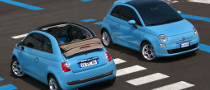 Fiat 500 and 500C TwinAir Introduced, Sales Start in September