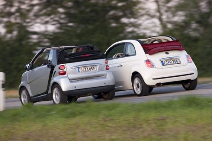 Smart And Fiat 500