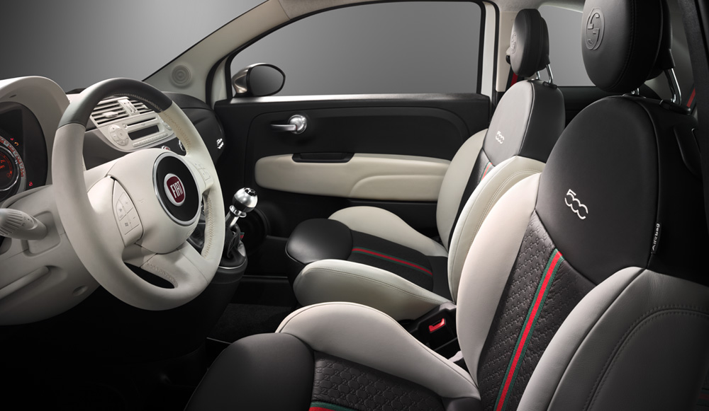 fiat 500 by gucci going to the us autoevolution. Black Bedroom Furniture Sets. Home Design Ideas