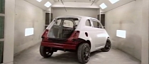 Fiat 500 Cafe Racer Teased ahead of SEMA Unveiling [Video]