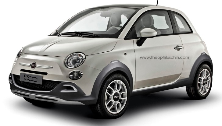 Fiat 500 Crossover Looks Nice, Will Never Happen