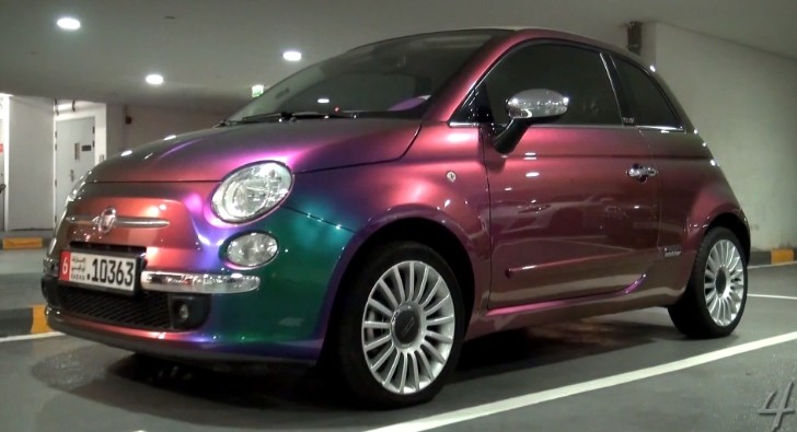Fiat 500 Is a Chameleon at Dubai Mall [Video]
