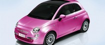Fiat 500 Pink - Limited Production Version