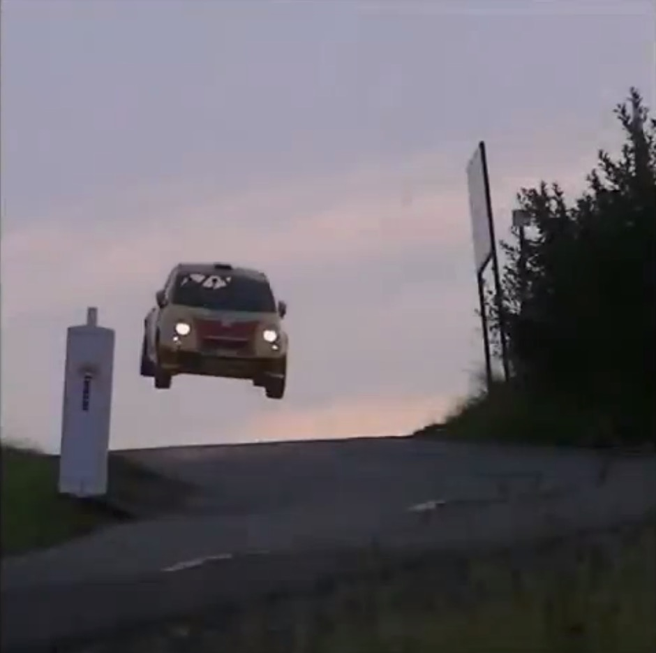 Fiat 500 Rally Car Has An R Kelly Moment Comes Back Down With A