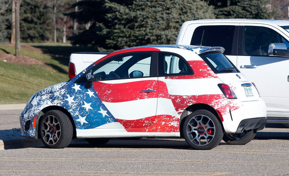 Fiat 500 Thinks It S American Now Autoevolution