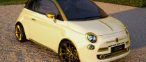 Fiat 500 Wrapped in Gold, Priced at $667,000 [Video]