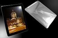 Diamond plated iPad to go