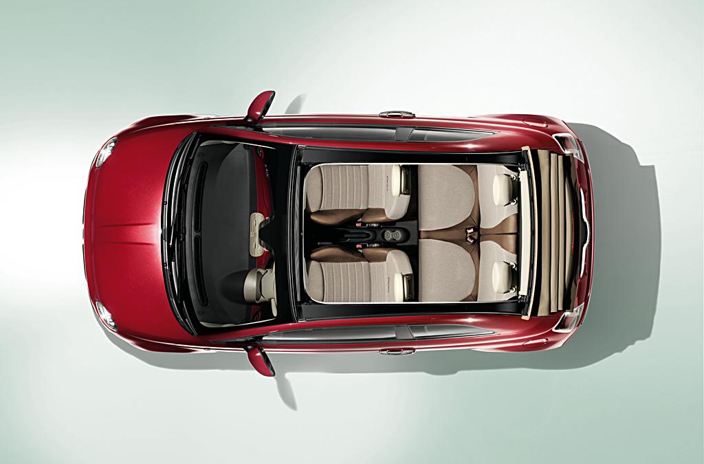Fiat 500c interior photos autoevolution for Fiat 500 interieur