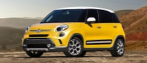 Fiat 500L Fully Revealed ahead of LA Debut [Photo Gallery]