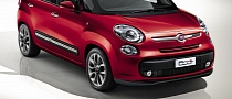 Fiat 500L Photos and Initial Specs Revealed