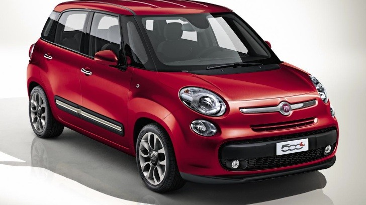 fiat 500l photos and initial specs revealed. Black Bedroom Furniture Sets. Home Design Ideas