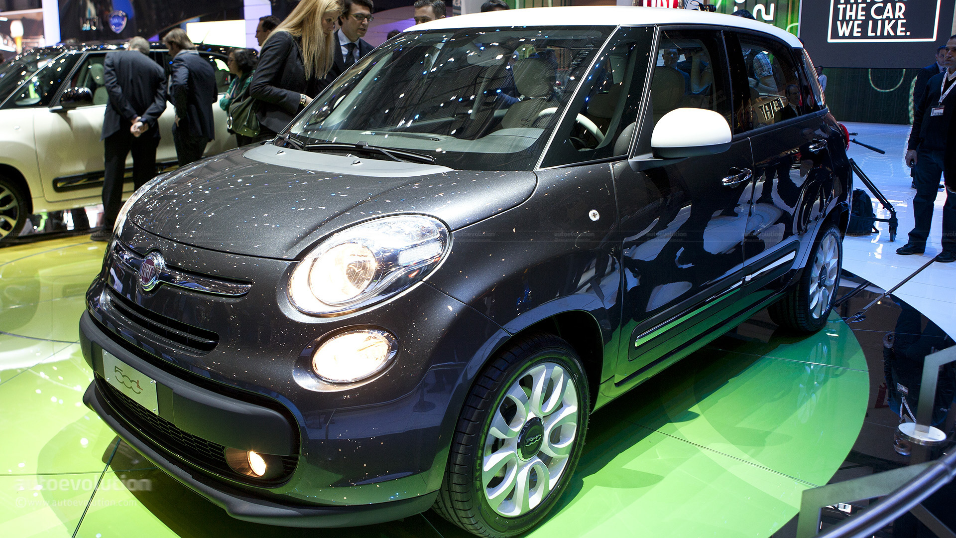 fiat 500x crossover coming in 2013 autoevolution. Black Bedroom Furniture Sets. Home Design Ideas