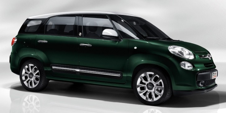 Fiat 500XL Actually Called 500L Living, Won't Come to America