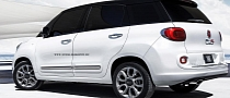 Fiat 500XL Rendering Gives Us an Extra Large View