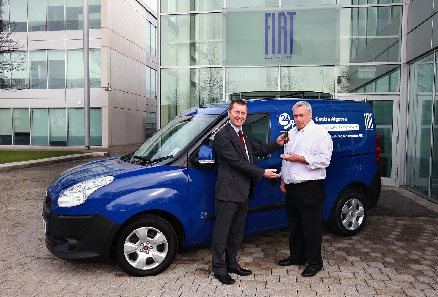 Fiat Doblo Cargo Van Donated To Special Needs Holiday Trust
