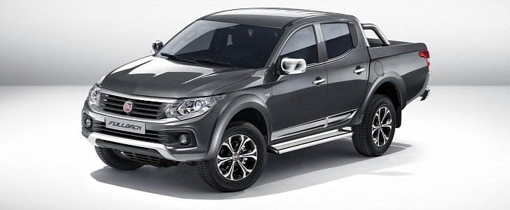 new fiat fullback pickup truck is the mitsubishi l200 39 s italian cousin autoevolution. Black Bedroom Furniture Sets. Home Design Ideas