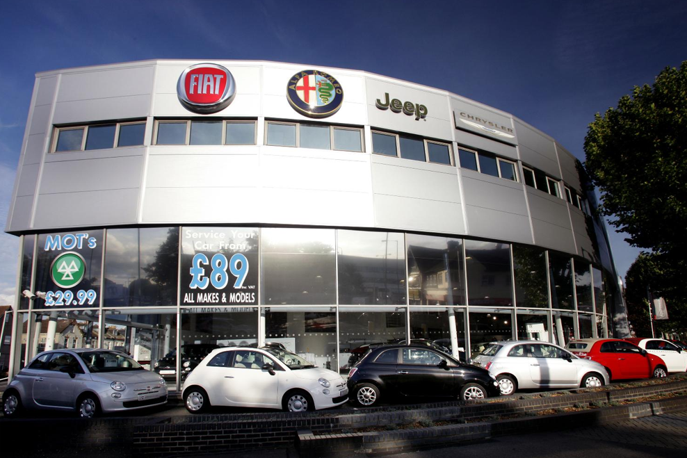 Chrysler Dealer LondonLondon City Chrysler Jeep Dodge Vehicles - Fiat dealers in london
