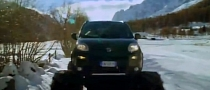 Fiat Panda Monster Truck Explained - Stars in Italian Ad [Video]