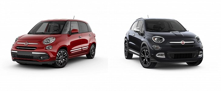 Fiat Reveals Chrome Appearance Packages For 500l 500x
