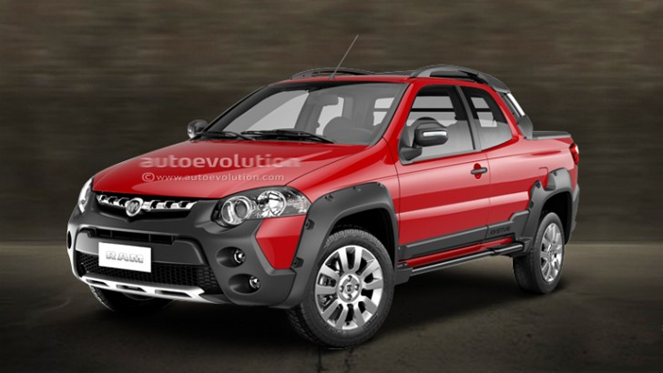 2015 Ram 750 is a Mexican Fiat Strada - autoevolution