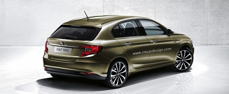 Fiat Tipo Egea Hatchback Rendering Previews Future Punto Replacement