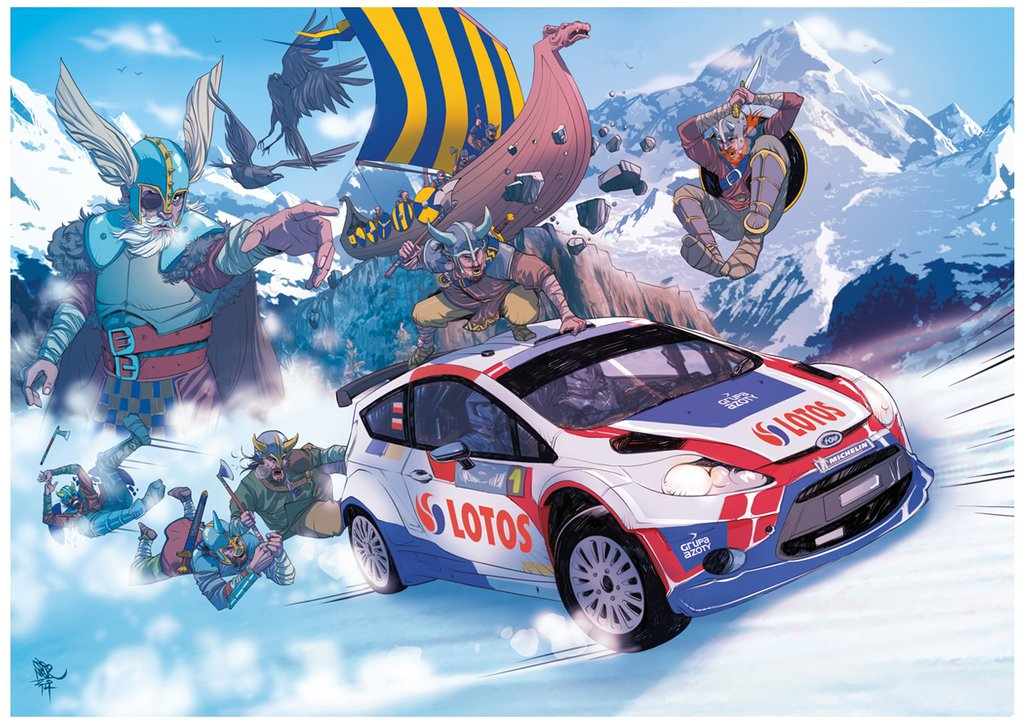 Fiesta Rally Car and Viking Gods: This Comic Wins the ...