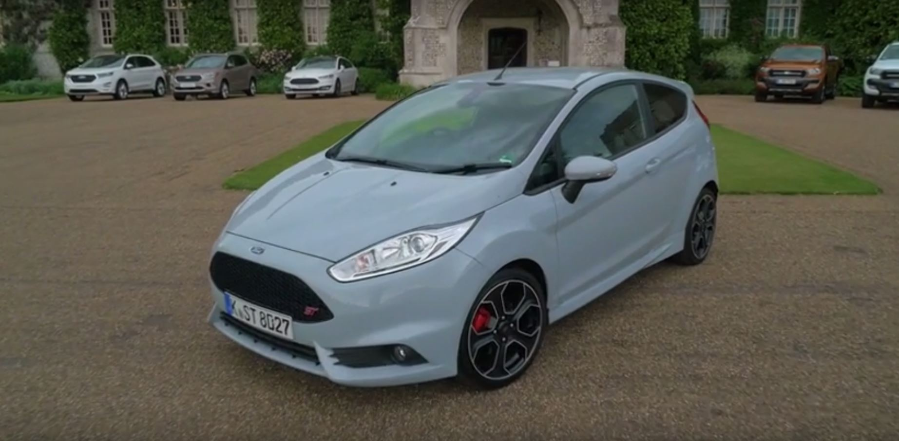 fiesta st200 visits 2016 goodwood fos gets driven by a. Black Bedroom Furniture Sets. Home Design Ideas