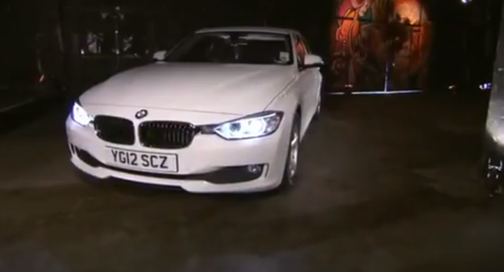 Fifth Gear Team Tests BMW F30 320d EfficientDynamics [Video]