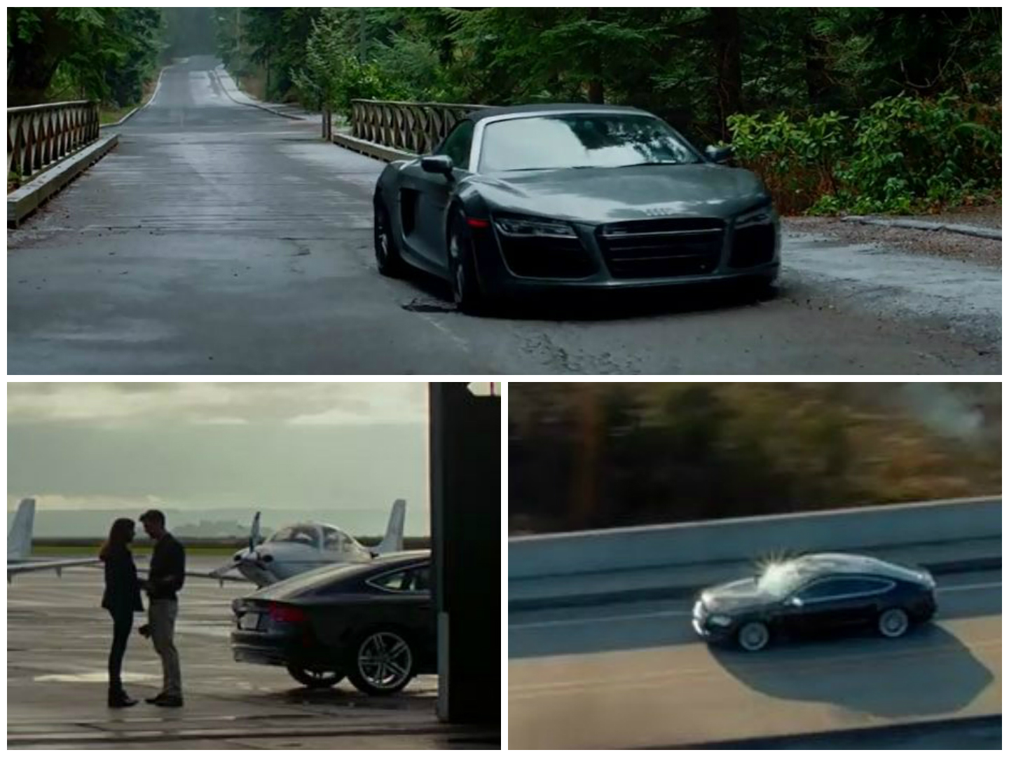Fifty Shades Of Grey Goes All Audi In Full Trailer Shades Of - Audi car in 50 shades of grey