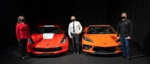 Final C7 Chevrolet Corvette and First C8 in Canada Were Auctioned for Kids