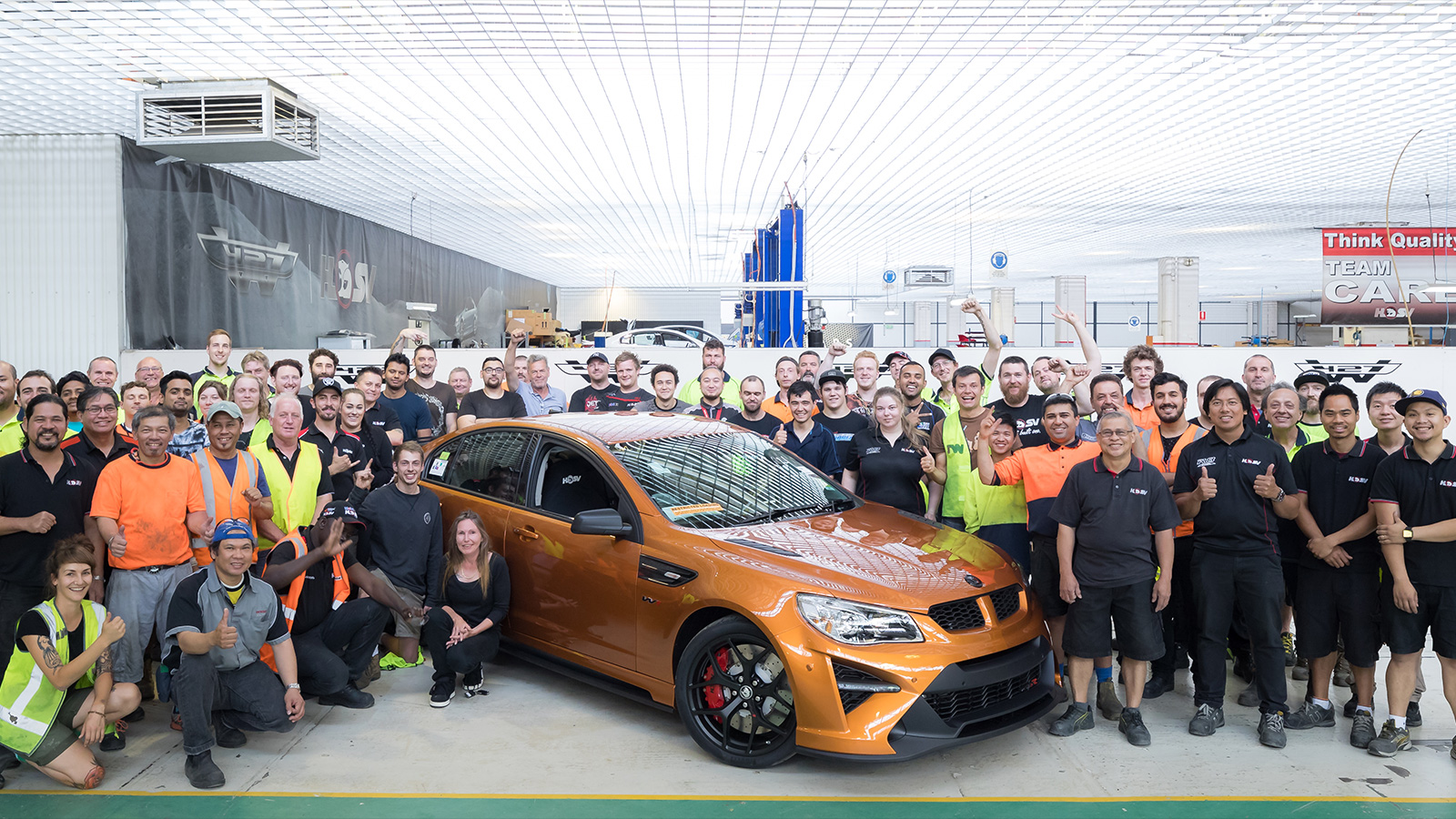 Final HSV GTSR W1 Marks The End Of The RWD Commodore And