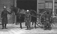 Fire crew from the early 1900s