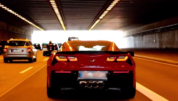 First 2014 Chevrolet Corvette Stingray Arrives in Europe [Video]