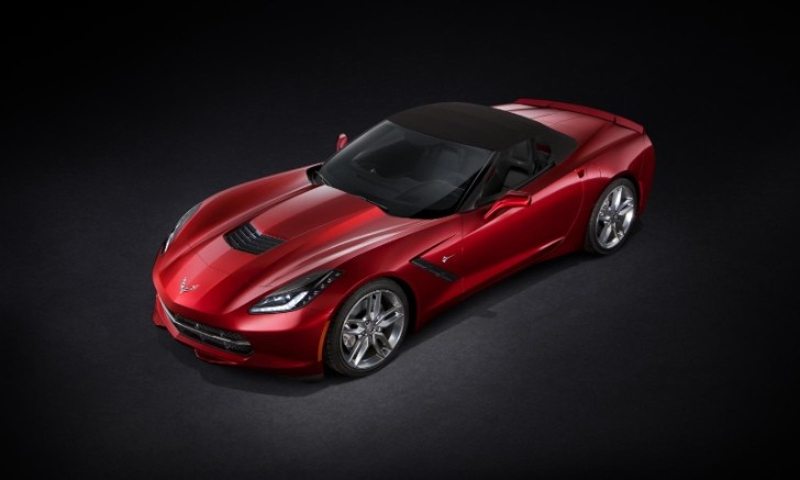 First 2014 Corvette Stingray Convertible Sold for $1 Million