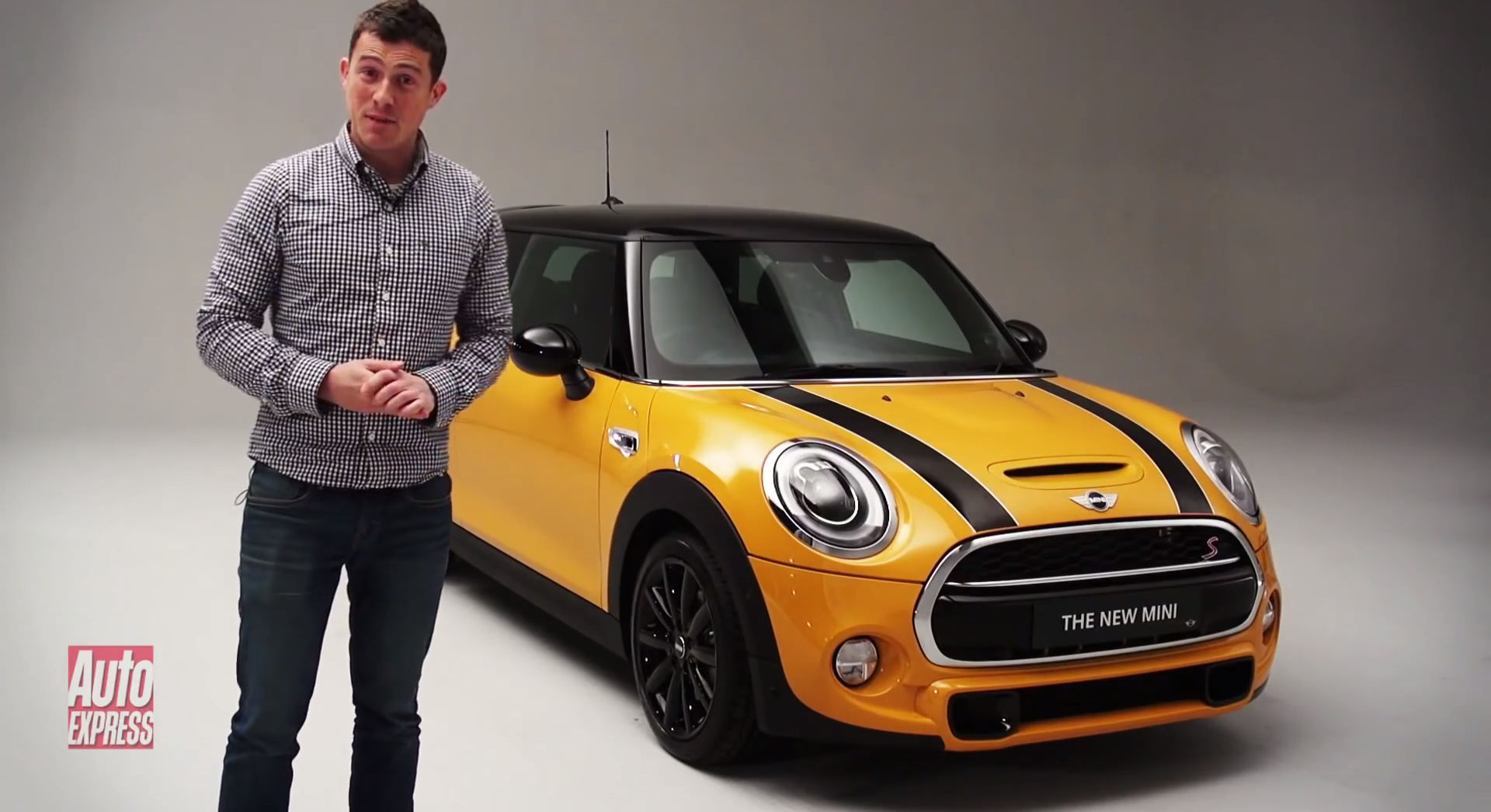 first 2014 mini cooper s review by auto express. Black Bedroom Furniture Sets. Home Design Ideas