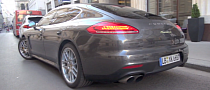 First 2014 Porsche Panamera E-Hybrid Spotted in Vienna [Video]