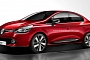 First 2014 Renault Clio Sedan Renderings