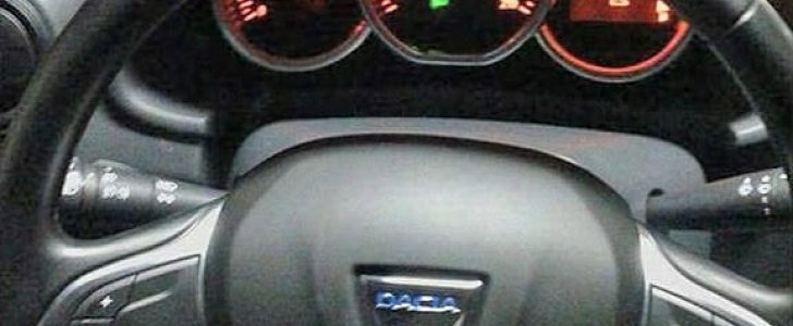 First 2017 Dacia Duster Photo Shows New Steering Wheel ...