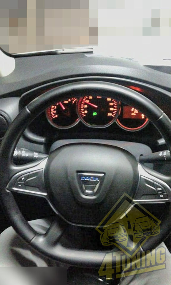 First 2017 Dacia Duster Photo Shows New Steering Wheel Design ...
