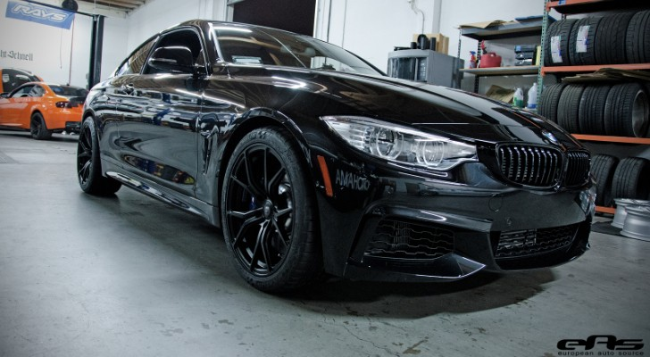 First 4 Series at EAS Gets Vorsteiner Wheels