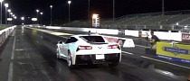 First 7-Speed Manual 2014 Corvette Stingray Hits the Drag Strip [Video]